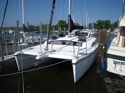 Preowned Sail Catamarans for Sale 2007 Gemini 105Mc