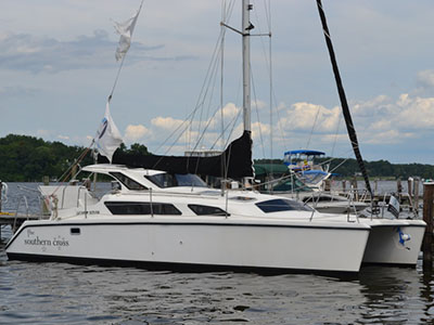 Catamarans SOUTHERN CROSS, Manufacturer: PERFORMANCE CRUISING, Model Year: 2005, Length: 34ft, Model: Gemini 105Mc, Condition: Preowned, Listing Status: Coming Soon, Price: USD 99999