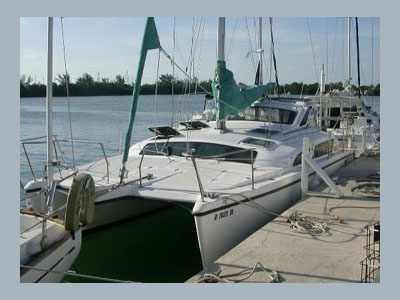 Used Sail Catamaran for Sale 2000 Gemini 105Mc