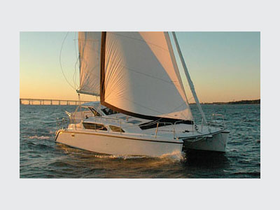 Preowned Sail Catamarans for Sale  Gemini 105Mc