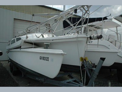 Preowned Sail Catamarans for Sale 2007 Telstar 28