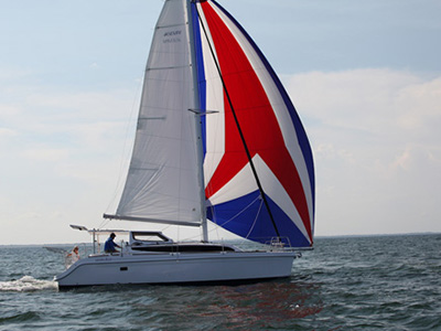 Preowned Sail Catamarans for Sale 2013 Legacy 35