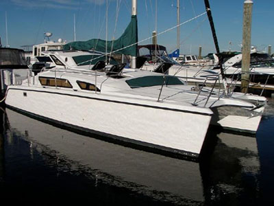 Preowned Sail Catamarans for Sale 1998 Gemini 105Mc