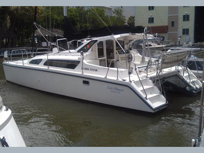 Catamarans LAST DRAFT, Manufacturer: PERFORMANCE CRUISING, Model Year: 2005, Length: 34ft, Model: Gemini 105Mc, Condition: USED, Listing Status: Acceptance of Vessel, Price: USD 119500