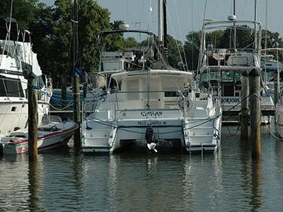 Preowned Sail Catamarans for Sale 2004 Gemini 105Mc