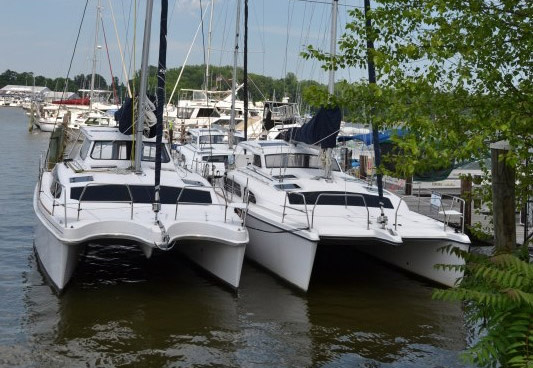 Preowned Sail Catamarans for Sale 2014 Legacy 35