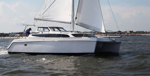 New Sail Catamarans for Sale 2014 Legacy 35