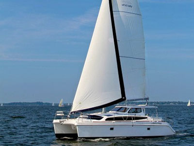 Catamarans HULL 1185, Manufacturer: GEMINI CATAMARANS, Model Year: 2014, Length: 35ft, Model: Legacy 35, Condition: NEW, Listing Status: SOLD, Price: GBP 170927