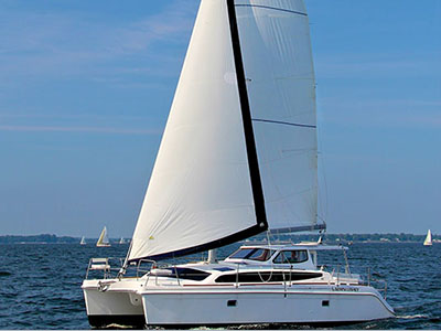 New Sail Catamarans for Sale 2014 Legacy 35