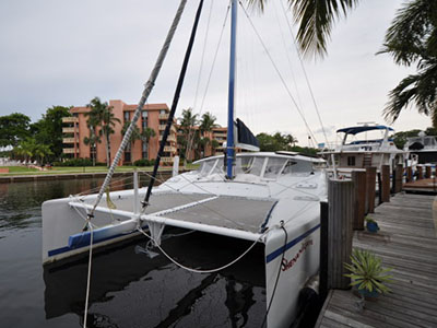 Preowned Sail Catamarans for Sale 2011 Gemini 105Mc