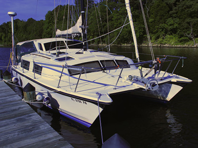 Preowned Sail Catamarans for Sale 1993 Gemini 3200