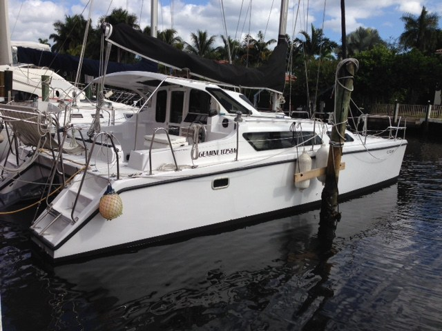 Preowned Sail Catamarans for Sale 2008 Gemini 105Mc