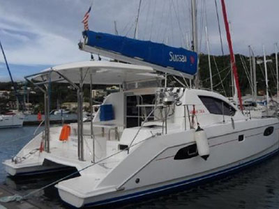 Preowned Sail Catamarans for Sale 2003 Gemini 105Mc