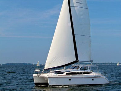 Preowned Sail Catamarans for Sale 2010 Gemini 105Mc