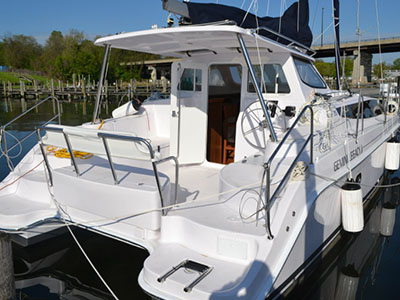 Catamaran for Sale Legacy 35  in Edgewater  Maryland (MD)  HULL 1202  Preowned Sail