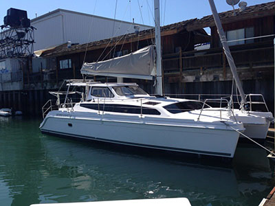 Preowned Sail Catamarans for Sale 2016 Legacy 35