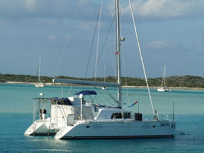 Catamarans BLUE HERON, Manufacturer: PERFORMANCE CRUISING, Model Year: 2008, Length: 34ft, Model: Gemini 105Mc, Condition: USED, Listing Status: Under Offer, Price: USD 134999