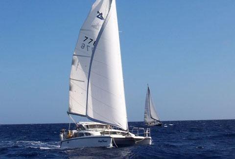 Preowned Sail Catamarans for Sale 2002 Gemini 105Mc