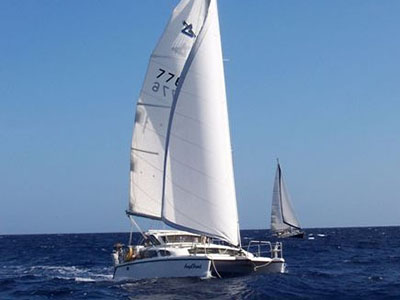 Preowned Sail Catamarans for Sale 2002 Gemini 105Mc