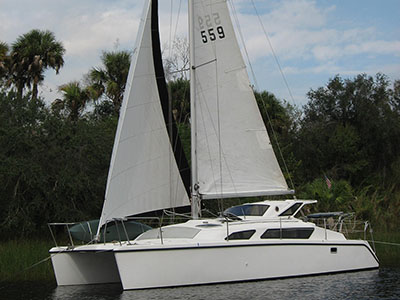 Preowned Sail Catamarans for Sale 1997 Gemini 105M