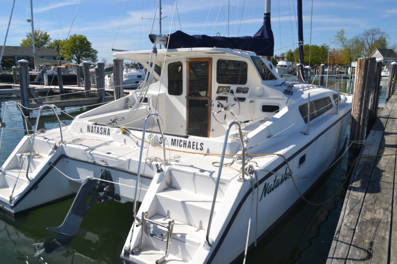 Preowned Sail Catamarans for Sale 1997 Gemini 105Mc