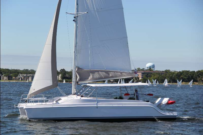 New Sail Catamaran for Sale 2017 Freestyle 37