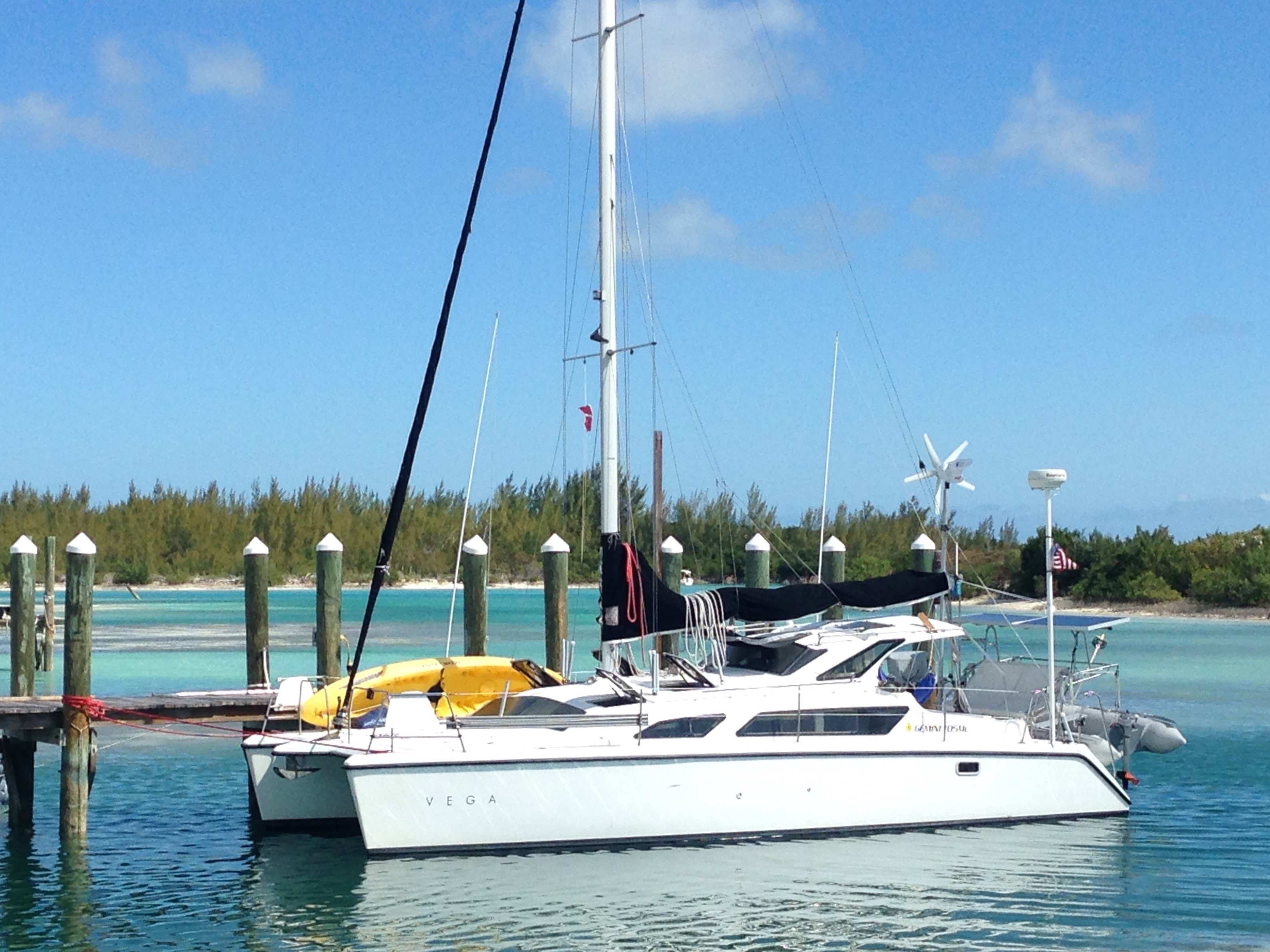Catamaran for Sale Gemini 105Mc  in Titusville Florida (FL)  VEGA  Preowned Sail