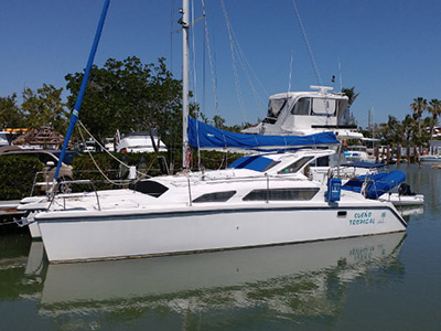 Catamaran for Sale Gemini 105M  in Key Largo Florida (FL)  SUENO TROPICAL  Preowned Sail