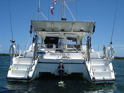 Catamaran for Sale Gemini 105Mc  in En route to St. Augustine Florida (FL)  OFF THE GRID  Preowned Sail