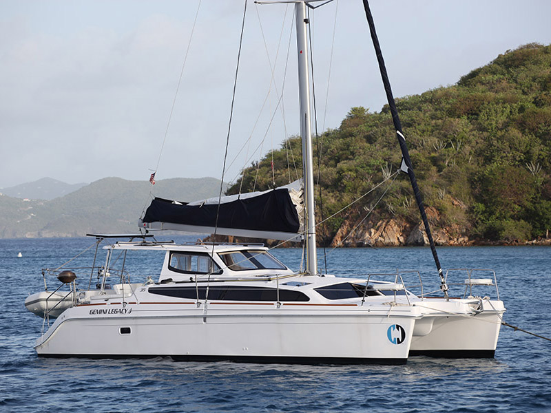Catamarans HULL 1215, Manufacturer: GEMINI CATAMARANS, Model Year: 2016, Length: 35ft, Model: Legacy 35, Condition: New, Listing Status: Coming Soon, Price: USD 282662