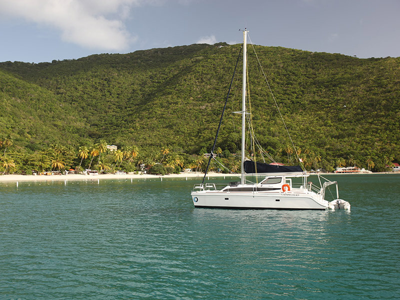 Used Sail Catamaran for Sale 2013 Legacy 35
