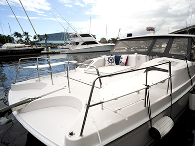 New Power Catamarans for Sale  Freestyle 399 Power