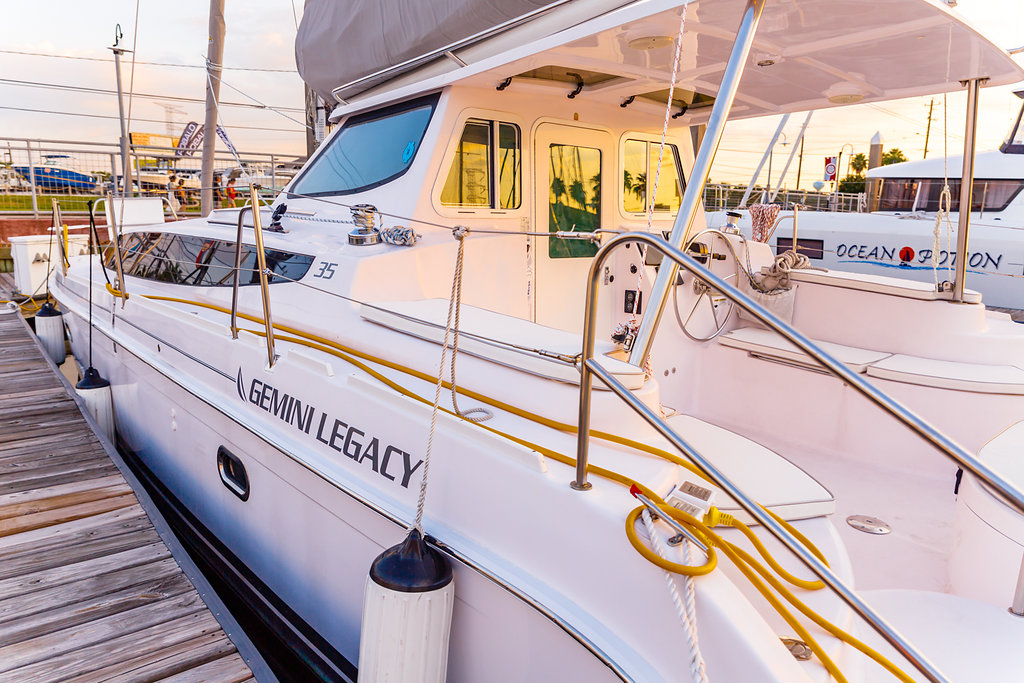 Preowned Sail Catamarans for Sale 2017 Legacy 35
