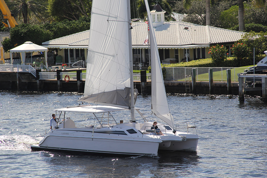 New Sail Catamaran for Sale 2019 Freestyle 37