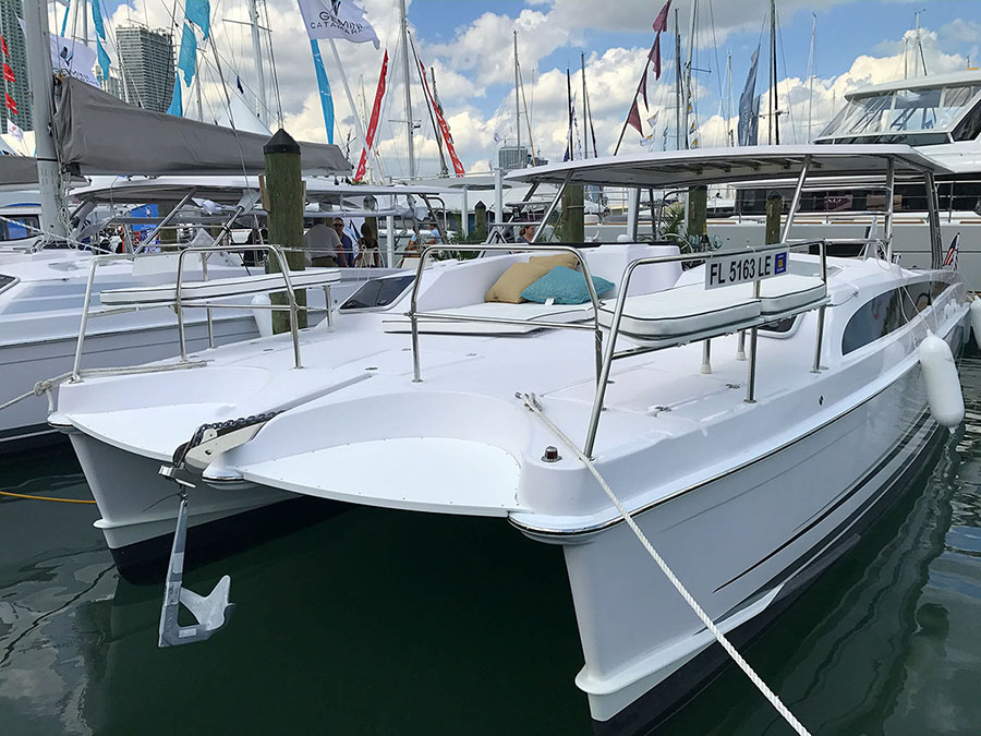 Catamarans NEW BUILD, Manufacturer: GEMINI CATAMARANS, Model Year: , Length: 39ft, Model: Freestyle 399 Power, Condition: New, Listing Status: Catamaran for Sale, Price: USD