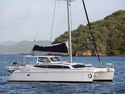 Used Sail Catamaran for Sale 2016 Legacy 35